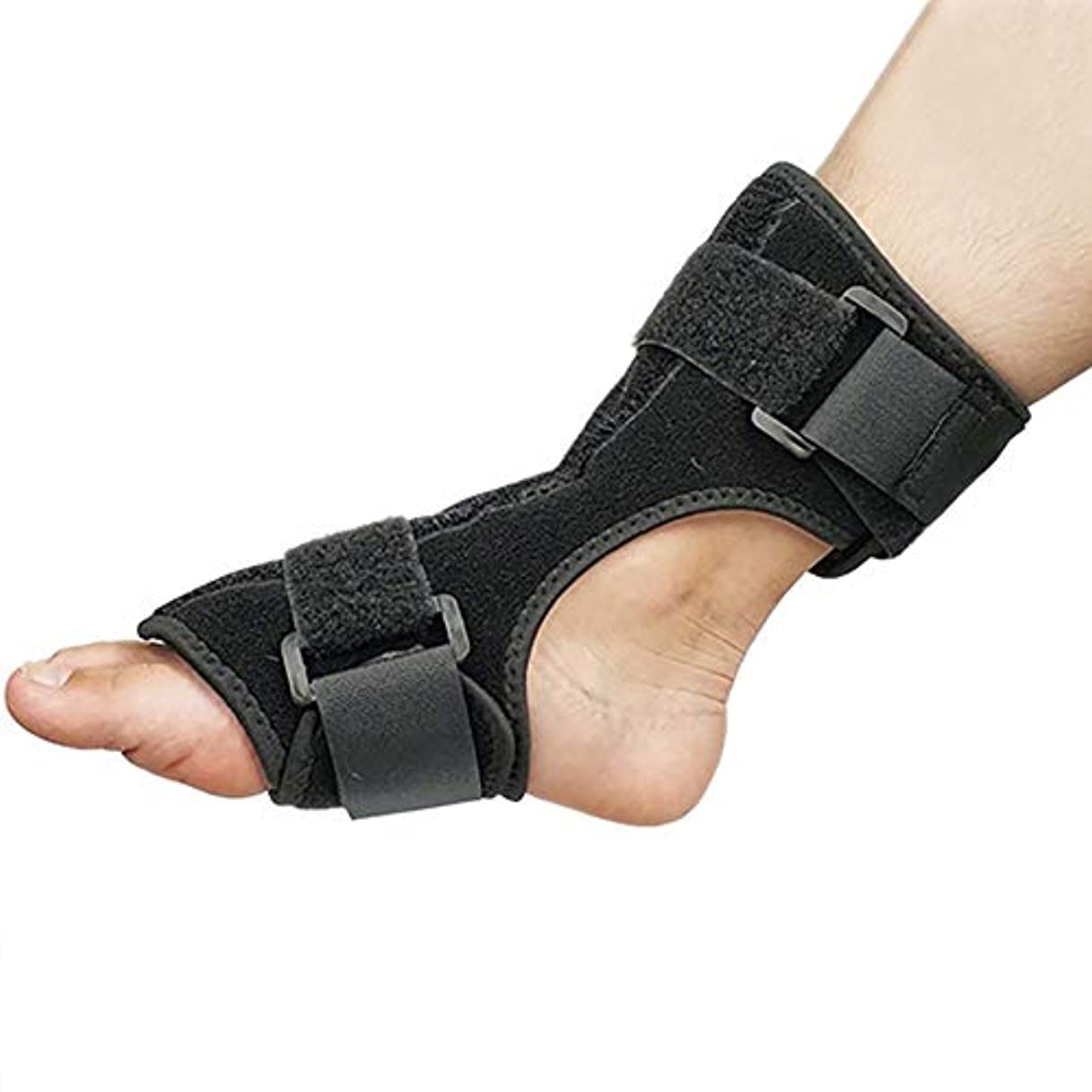 頬紳士気取りの、きざな物質足首のサポート 足用補助装具 アキレス腱 素足の保護 たるみの修正 固定の強化 創傷の足の支持 1枚 左右兼用