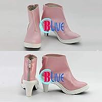●●サイズ選択可●●I0926ZCI コスプレ靴 ブーツ アイドルマスター THE IDOLM@STER 水瀬 伊織 女性24CM