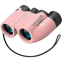 VAILGE オペラグラス 10倍高倍率 Bak4レンズ 7.5°広視野 双眼鏡 軽量防水 双眼鏡 ライブ めがね対応 望遠鏡 折り畳み オペラグラス コンサート用 ピンク