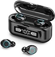 VIRE Wireless Noise Cancelling Earbuds, Built In Microphone, Auto-Connects To Devices, Great For Sports And Wo