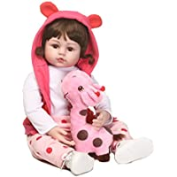 SanyDoll Rebornベビー人形ソフトSilicone 22インチ55 cm磁気Lovely Lifelike Cute Lovely Baby b0763kzg2t