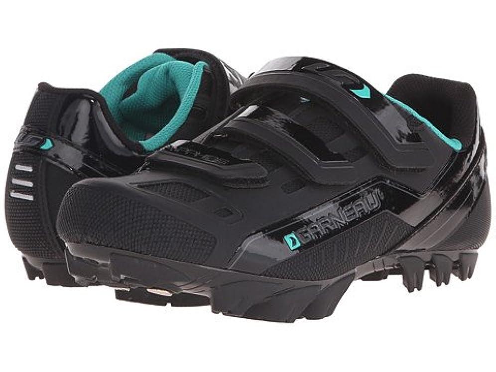 チューインガムヒープ機密[ルイ ガノー] レディースサイクリングシューズ?スニーカー?靴 Sapphire Black US Women's 10 26cm B - Medium [並行輸入品]
