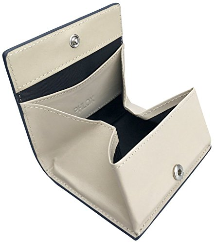 PHLOX(フロックス) 財布 小銭入れ ボタン式 ボックス型 コインケース...