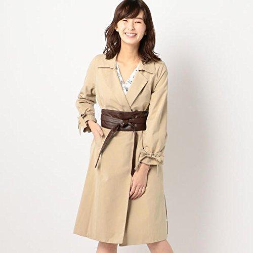 ミューズ リファインド クローズ(MEW'S REFINED CLOTHES) サッシュベルト付トレンチ