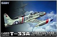 グレートウォールホビー 1/48 T-33A 練習機 初期型 アメリカ/ドイツ/イタリア エッチングパーツ付き プラモデル L4819E