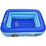 PovKeever ジャンボファミリープール ビニールプール キーズプール 家庭用プール 水遊び 夏にオススメ