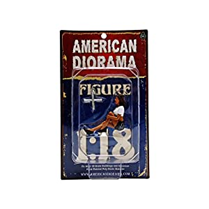 1/18 American Diorama Lady Mechanic - Lucy 女性 メカニック フィギュア 模型
