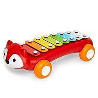 フォックスシロフォン 鉄琴 ベビーおもちゃ 楽器 楽器おもちゃ 音楽おもちゃ トイ スキップホップ リズム 出産祝い ギフト