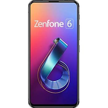 ASUS ZenFone 6 ミッドナイトブラック (6GB/128GB) 【日本正規代理店品】 ZS630KL-BK128S6/A