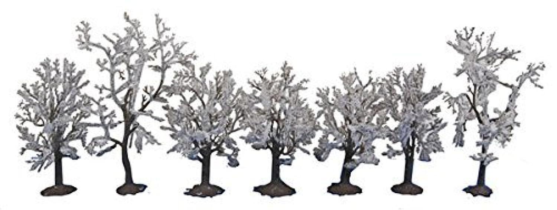 Walthers SceneMaster Snow Trees (7 per Train) [並行輸入品]
