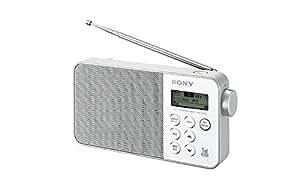SONY ワンセグTV音声/FMステレオ/AMラジオ ホワイト XDR-55TV/W