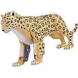 トランスフォーマー 動物 リアル フィギュア 変形可能 子供おもちゃ 知育玩具 全6種類 - チーター