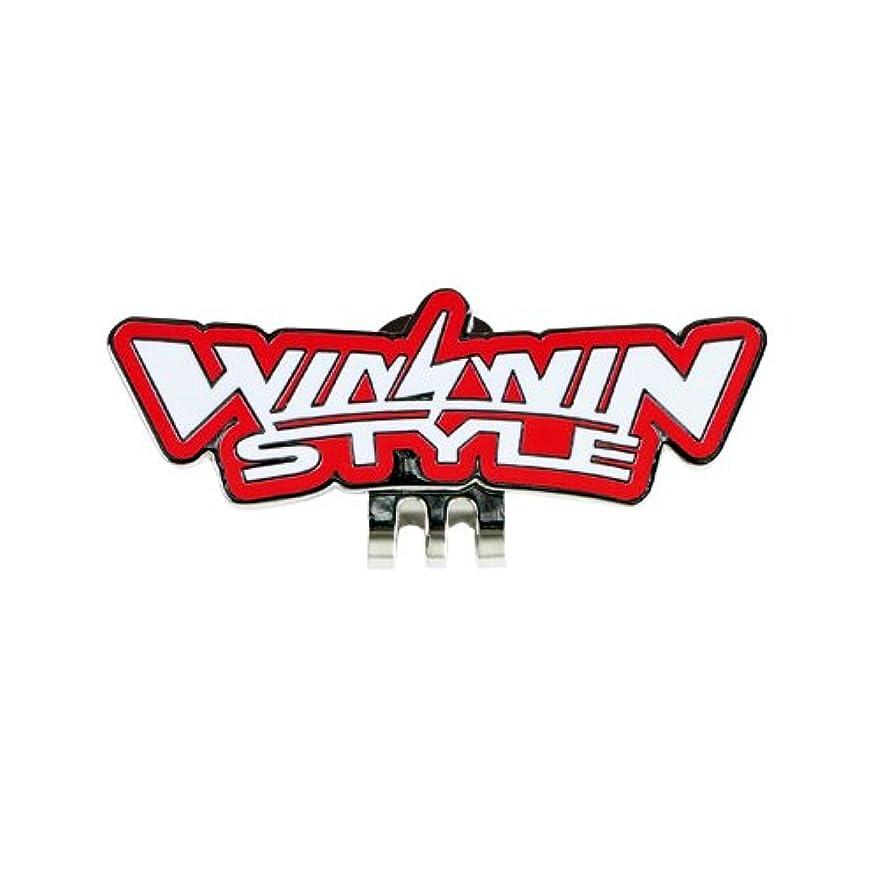 申し立てる手を差し伸べる休眠WINWIN STYLE(ウィンウィンスタイル) ゴルフ マーカー WINWIN STYLE LOGO MEGA CLIP グリーンマーカー用 台座 (単品) カラー RD DA-032
