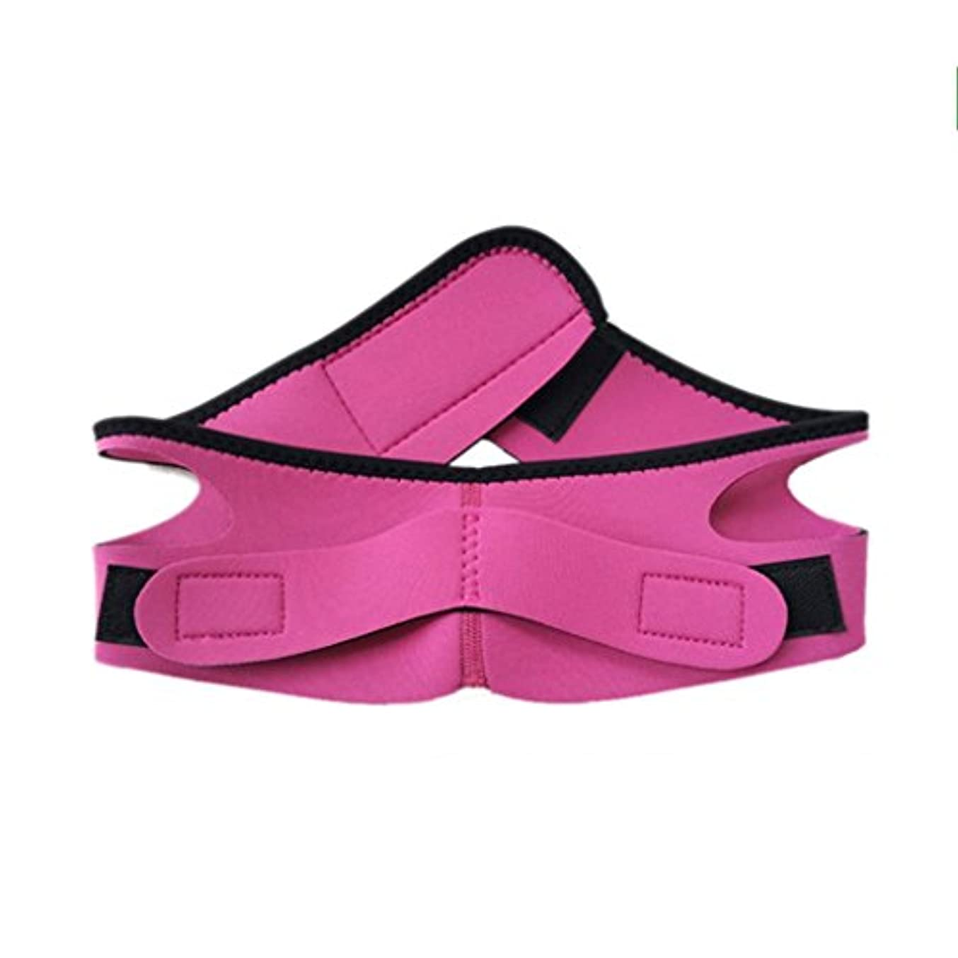 勢いリベラルアジア人Qi いびき予防、あごの下の顎の転倒 - ベルトを止める - 口呼吸を防ぐ私はいびきを起こす - 眠りと睡眠の矯正アーティファクト(68cm * 8.5cm) Xia (色 : Pink)