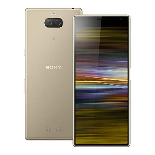 Sony Xperia 10 Plus (I4293) 6GB / 64GB 6.5インチLTEデュアルSIM SIMフリー [並行輸入品] (ゴールド)