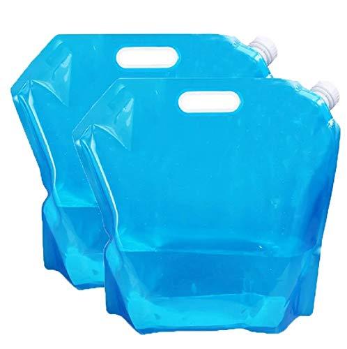 給水袋 ウォーターバッグ 折りたたみ式 キャンプ バーベキュ...