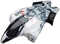 Heli Max 1SQ V-Cam Canopy White/Black [並行輸入品]