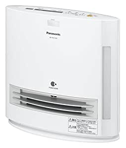 パナソニック セラミックファンヒーター 加湿機能付 ひとセンサー付(ナノイーあり) ホワイト DS-FKX1205-W