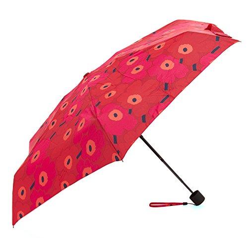 マリメッコ marimekko 雨傘 折りたたみ傘 かさ レディース ミニウニッコレッド 038653-301 [並行輸入品]