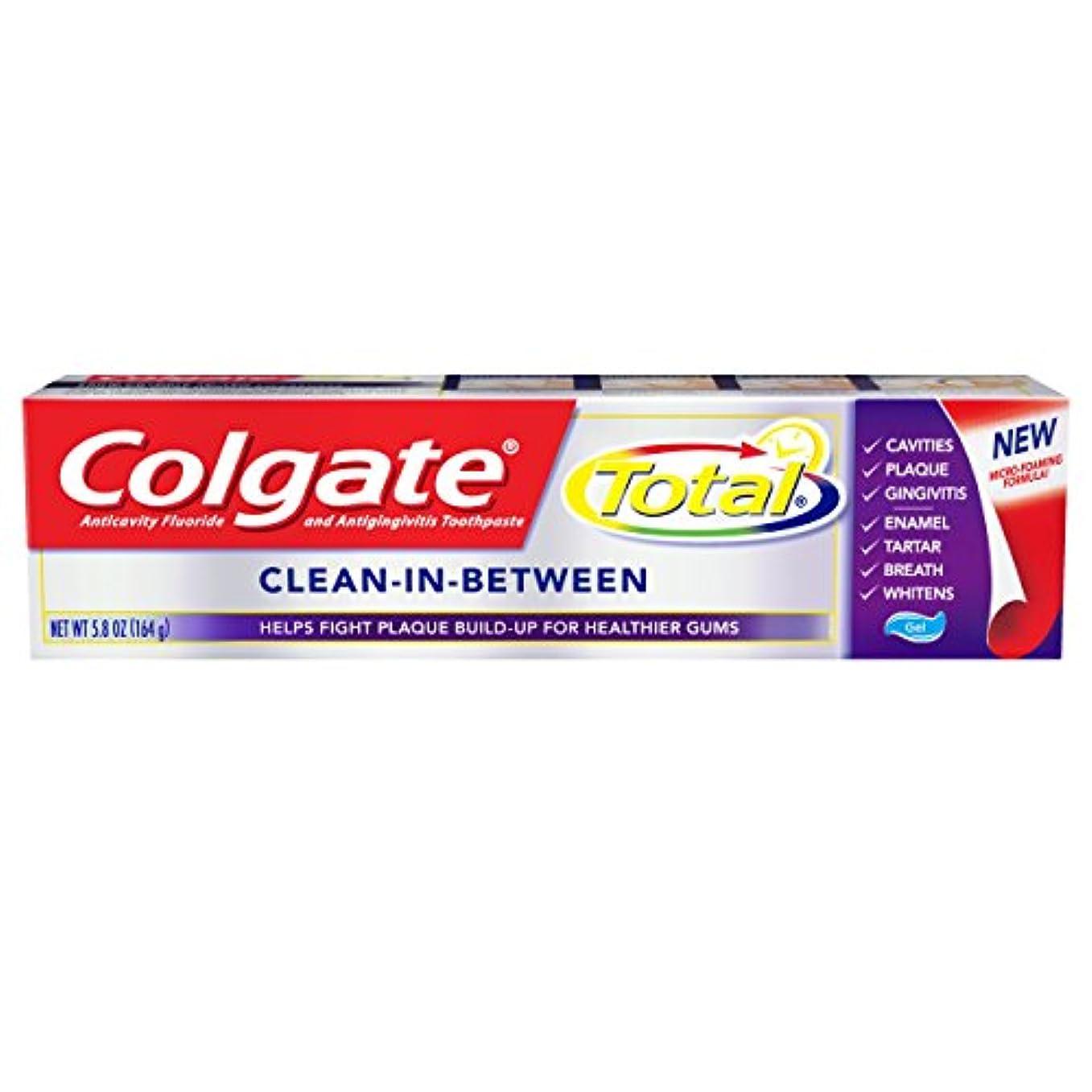 五十に対してアナログColgate 総練り歯磨き、クリーンインの間、5.8オンス