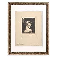 オディロン・ルドン Odilon Redon 「Perversity, 1891.」 額装アート作品