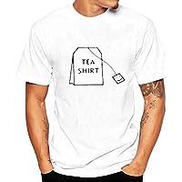 Tシャツ 半袖 メンズ Dafanet tシャツ 無地 白 大きい プリント ジャージ 修身 カジュアル シャツ 個性 吸汗速乾 上着 通勤通学 運動 日常用 オシャレ 涼しい 春夏シャツ