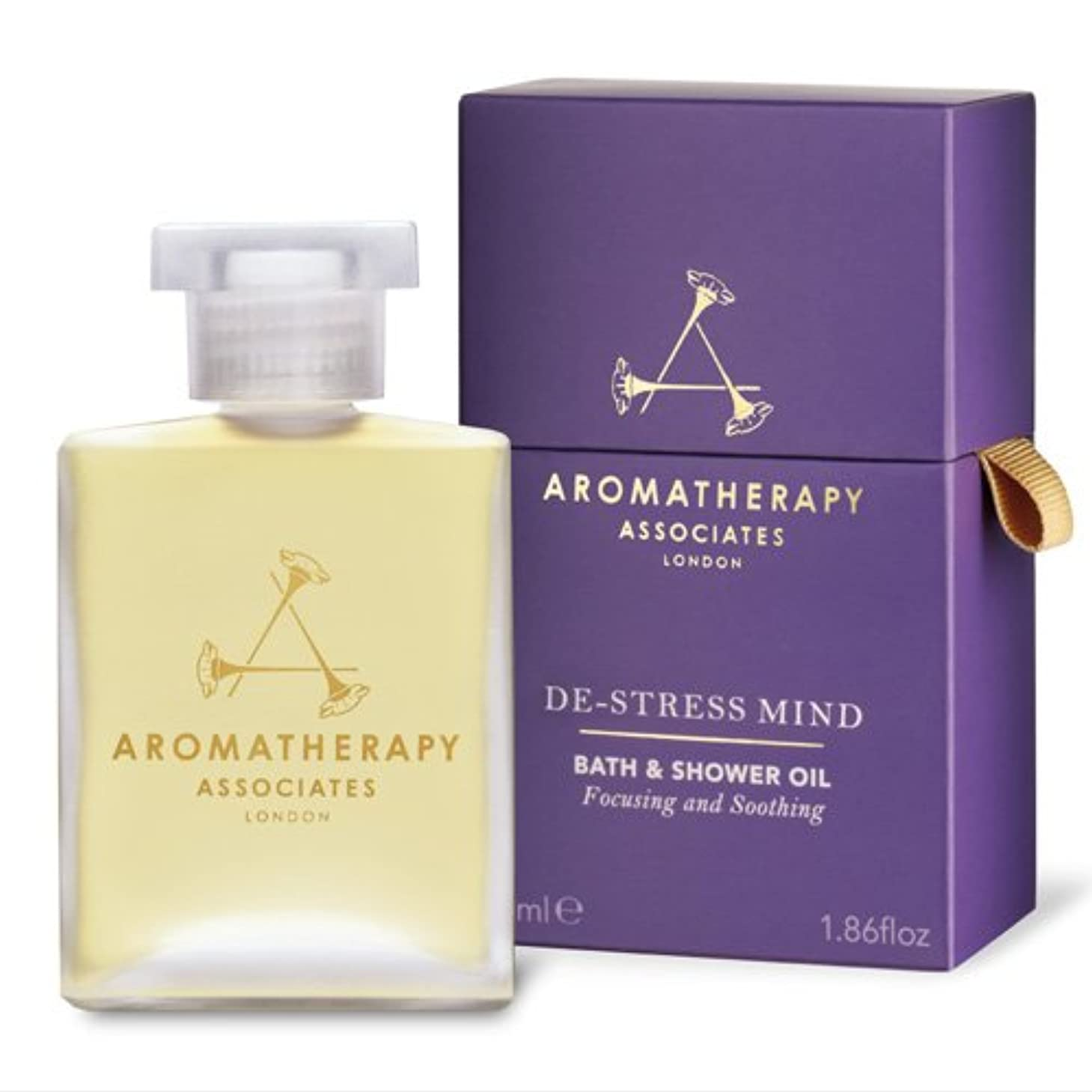 不安定なで出来ている旋回アロマセラピー アソシエイツ De-Stress - Mind Bath & Shower Oil 55ml/1.86oz