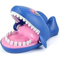 幼児期のゲーム 子供の大人ボードゲームおもちゃの子供の電気歯磨き指輪の鮫のおもちゃ
