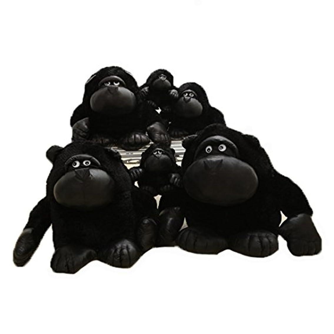 落ち込んでいる出します測定可能[XINXIKEJI] ぬいぐるみ ゴリラ 抱き枕 ぬいぐるみ 可愛いゴリラ 動物 大きい ゴリラ 縫い包みチンパンジー お祝い ふわふわ お人形 女の子 男の子 子供 女性 抱き枕 プレゼント ビッグサイズ 55CM