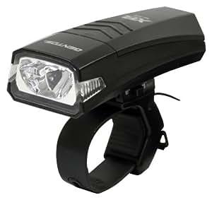 ジェントス バイクライト XB 350B 【明るさ110ルーメン/実用点灯5時間】 ブラック XB-350B