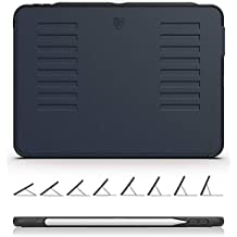 ZUGU CASE The Muse Case - 2018 iPad Pro 11 inch (New Model) - Very Protective But Thin + Convenient Magnetic Stand + Sleep/Wake Cover (Navy Blue)
