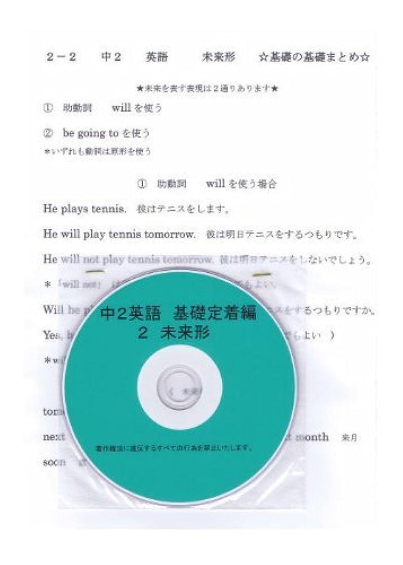 フェードウィザードカート中学 英語 2年【基礎】問題集 2 未来形 DVD (授業+テキスト+問題集)