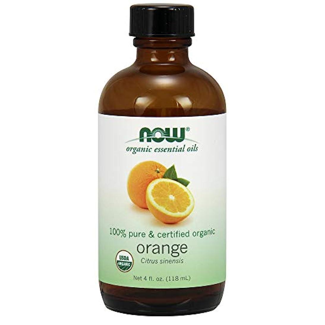 考えるどこか異形ナウフーズ エッセンシャルアロマオイル オレンジ 118ml 【正規輸入品】