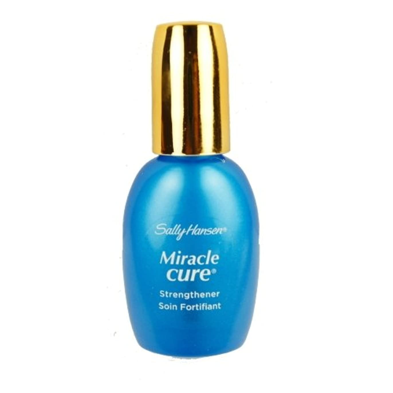神経作り上げる肌寒いSALLY HANSEN Miracle Cure for Severe Problem Nails - Miracle Cure (並行輸入品)