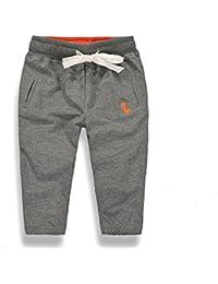 23f86d586fd98 Amazon.co.jp  グレー - パンツ   ガールズ  服&ファッション小物