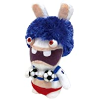 Jemini - Peluche Lapin Crétin Sonore 18cm Football France - 3298060224727