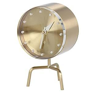 [ ヴィトラ ] Vitra Desk Clocks デスク クロック 時計 Tripod Clock Brass ブラス 215 020 01 215 020 01 並行輸入品 [並行輸入品]