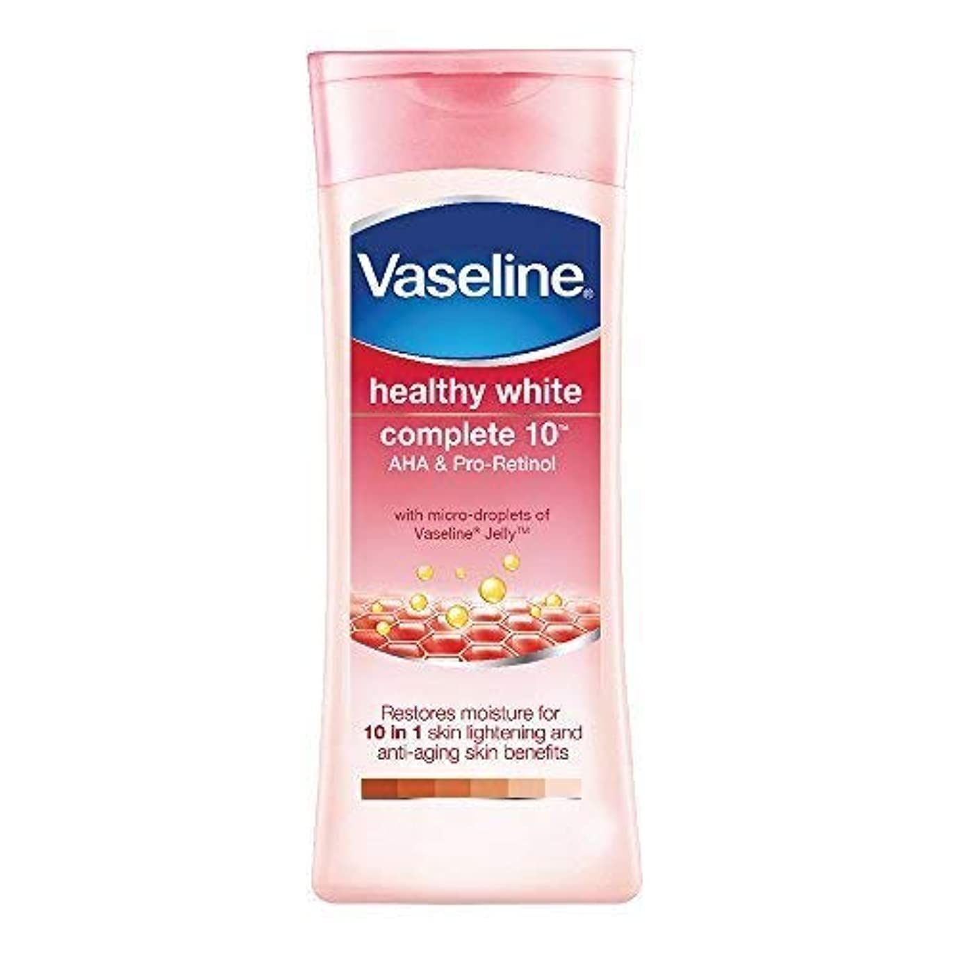 本質的ではないねばねばニコチンVaseline Healthy White Complete 10 AHA and Pro Retinol, 200ml