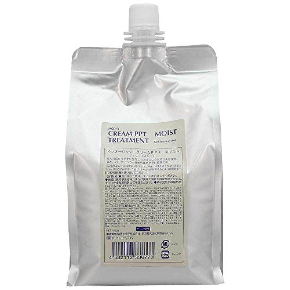 蒸留組立幼児香栄化学 クリームPPTモイスト 1000g 詰め替え (トリートメント)