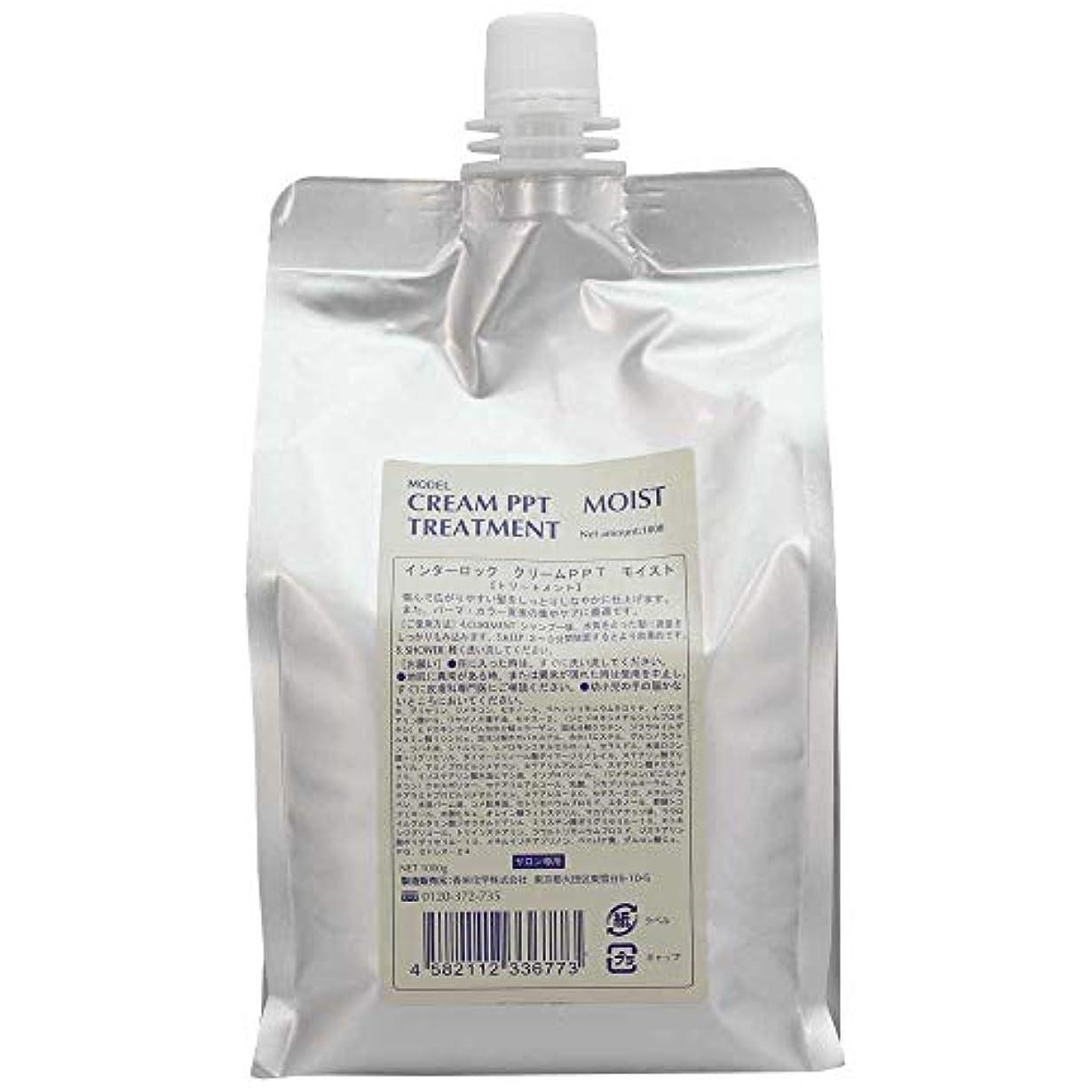 フレームワーク操るメーター香栄化学 クリームPPTモイスト 1000g 詰め替え (トリートメント)