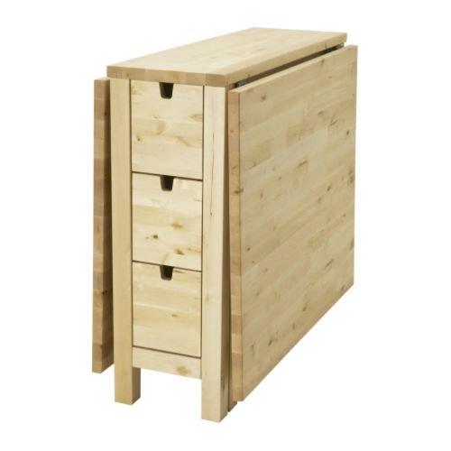 RoomClip商品情報 - ★★NORDEN/ゲートレッグテーブル/バーチ[イケア]IKEA(20162077)