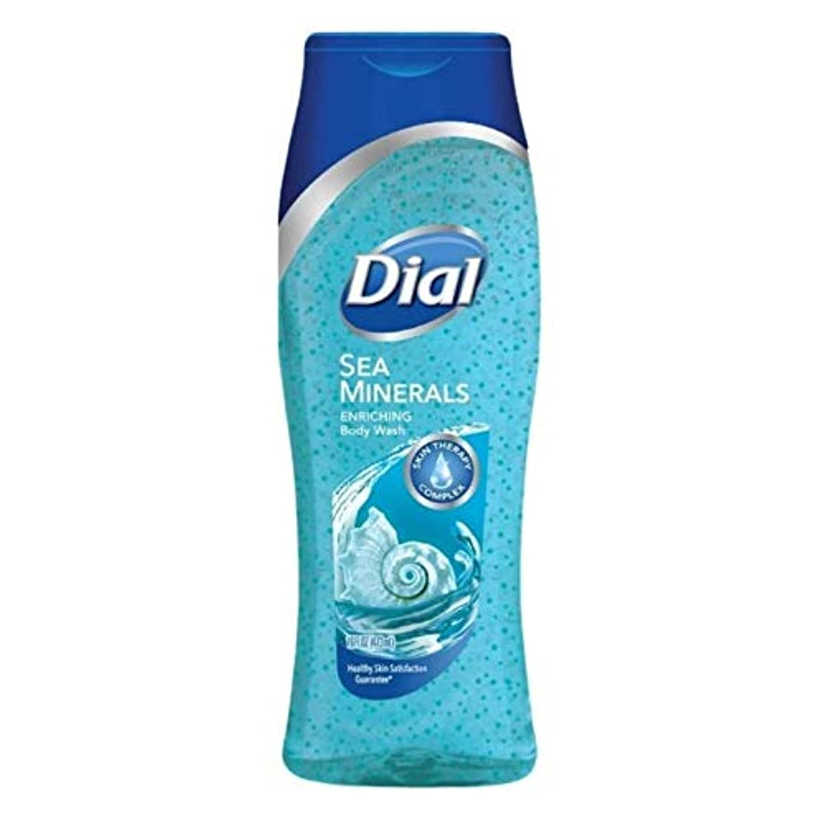協同用心可聴Dial Body Wash, Himalayan Salt & Exfoliating Beads, 16 Fl. Oz - 2 pk by Dial