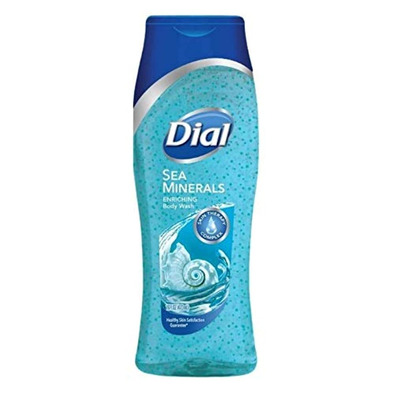 天窓笑近代化するDial Body Wash, Himalayan Salt & Exfoliating Beads, 16 Fl. Oz - 2 pk by Dial