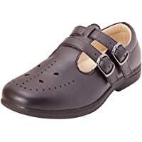 Easy Strider Girls Memory Foam School Uniform Shoes (Toddler/Little Kid/Big Kid)