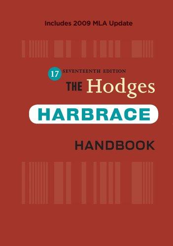 Download Hodges' Harbrace Handbook, 17/e Hardcover (912 pp) 0495797561