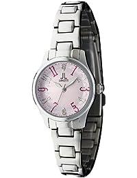 93f1a87567 [ランチェッティ]LANCETTI 腕時計 天然ダイヤモンド 三針 LT-6202S-PK レディース