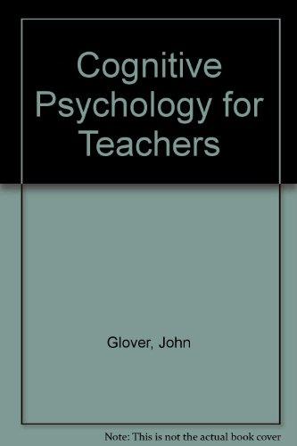 Download Cognitive Psychology for Teachers 002344133X