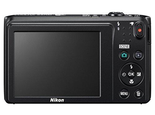 Nikon デジタルカメラ COOLPIX S3700 ブラック 光学8倍ズーム 2005万画素 S3700BK
