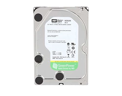 WESTERN DIGITAL WD AV-GP 3.5インチ内蔵HDD 2TB SATA6.0Gb/s IntelliPower 64MB WD20EURX