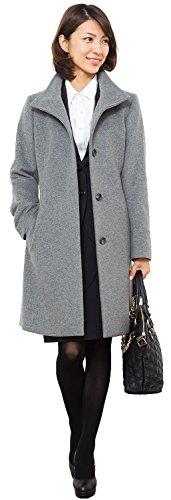 [해외](스리루) Sourire 여성의 겉옷 모직 모직 코트 쇼트 비버 스탠드 모직 코트 m274172/(ス ? リ ? ル) Sourire Women`s outerwool wool coat short beaver stand wool coat m274172
